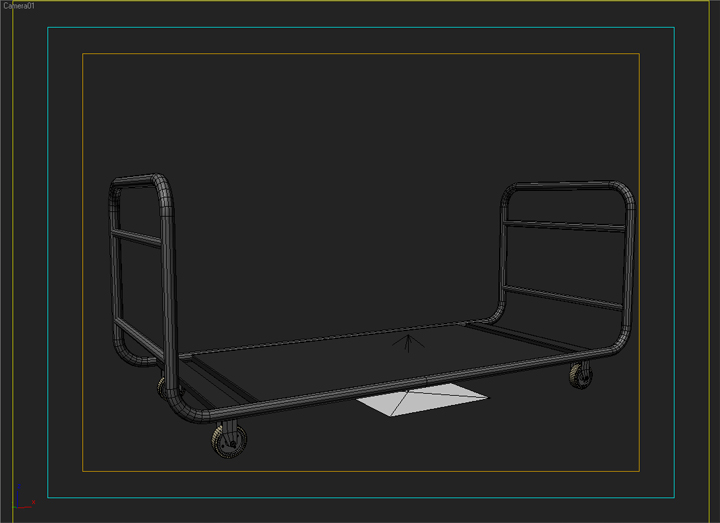 cargo trolly 3d model 3ds max fbx obj 142070