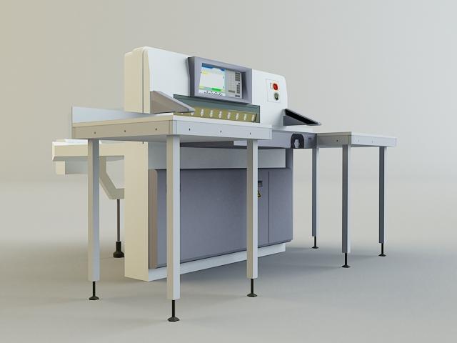 cutter machine 3d model 3ds max obj 138422