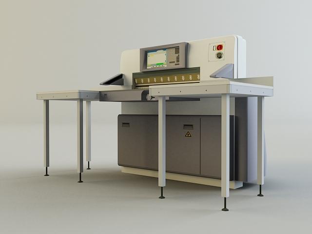 cutter machine 3d model 3ds max obj 138423