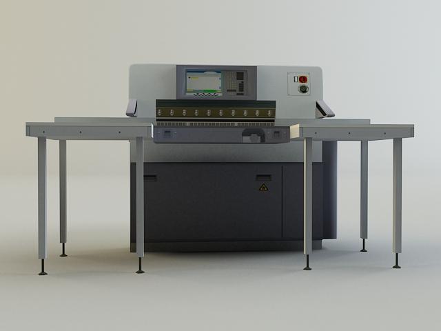 cutter machine 3d model 3ds max obj 138424
