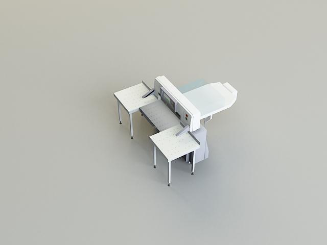 cutter machine 3d model 3ds max obj 138425
