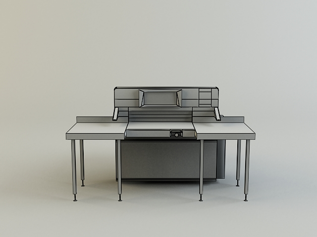 cutter machine 3d model 3ds max obj 138426