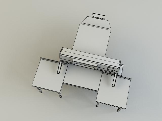 cutter machine 3d model 3ds max obj 138427