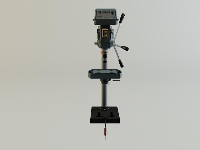 drill machine 3d model 3ds max obj 139104