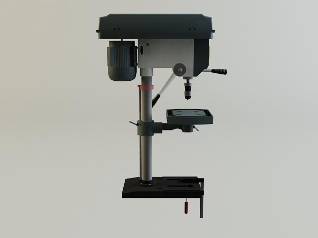 drill machine 3d model 3ds max obj 139105