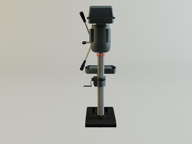 drill machine 3d model 3ds max obj 139106