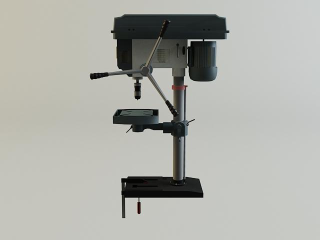 drill machine 3d model 3ds max obj 139107