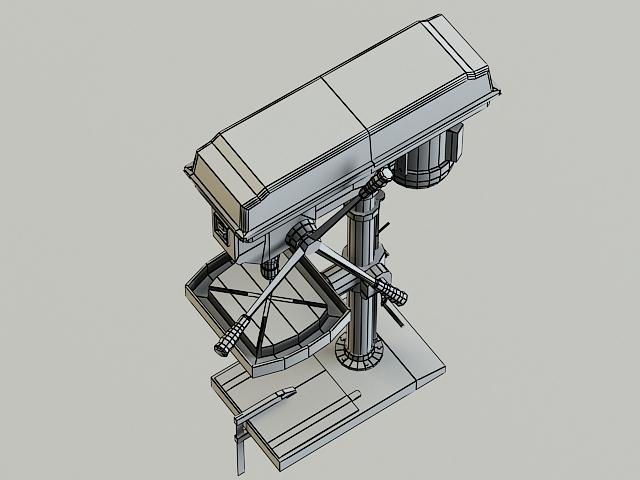drill machine 3d model 3ds max obj 139108