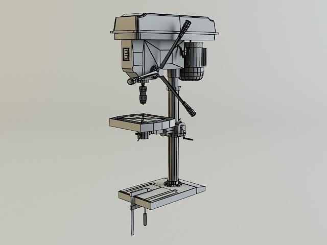 drill machine 3d model 3ds max obj 139109