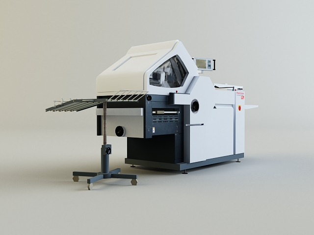 folding machine 3d model 3ds max obj 138435