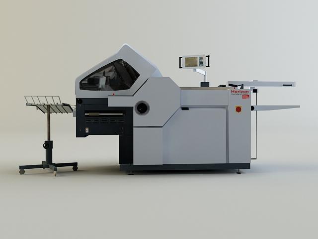 folding machine 3d model 3ds max obj 138436