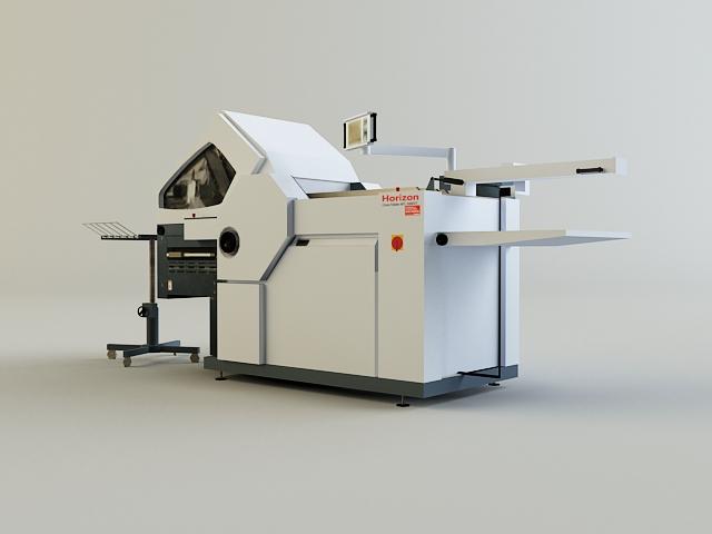 folding machine 3d model 3ds max obj 138437