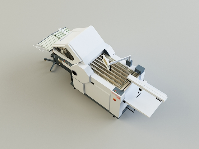 folding machine 3d model 3ds max obj 138438