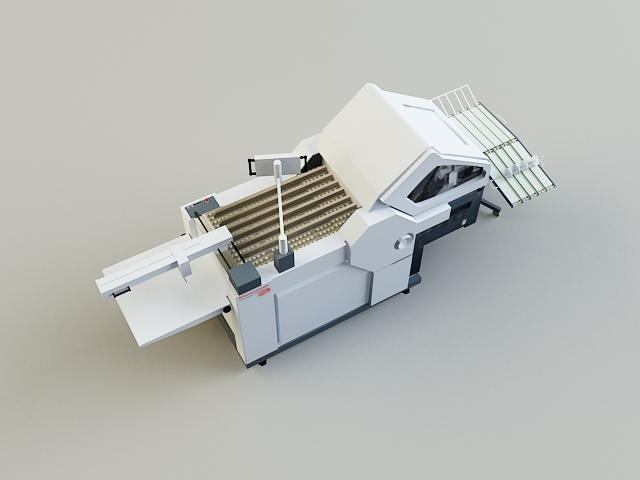 folding machine 3d model 3ds max obj 138439