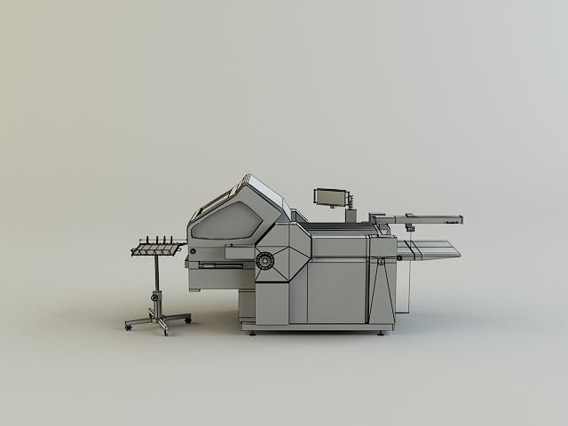 folding machine 3d model 3ds max obj 138440