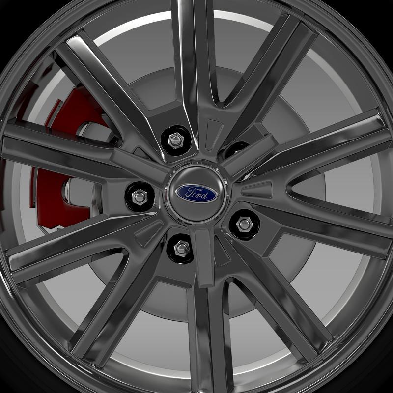 ford mustang 2005 wheel 3d model fbx c4d lwo ma mb obj 138025