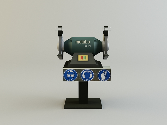 grinding_machine 3d model 3ds max obj 139131