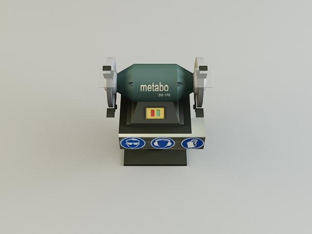 grinding_machine 3d model 3ds max obj 139133