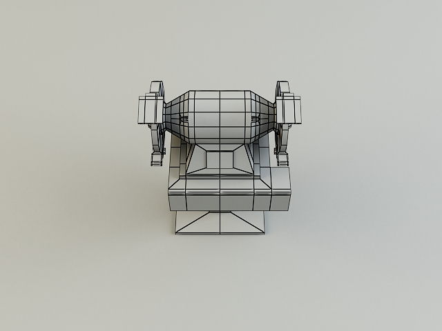 grinding_machine 3d model 3ds max obj 139134