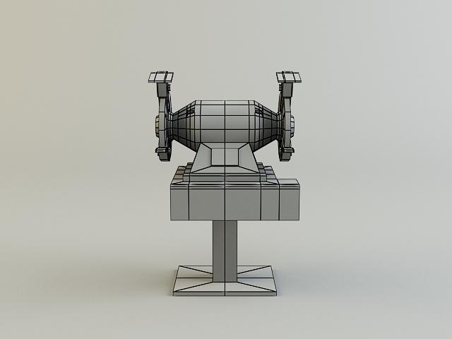 grinding_machine 3d model 3ds max obj 139135