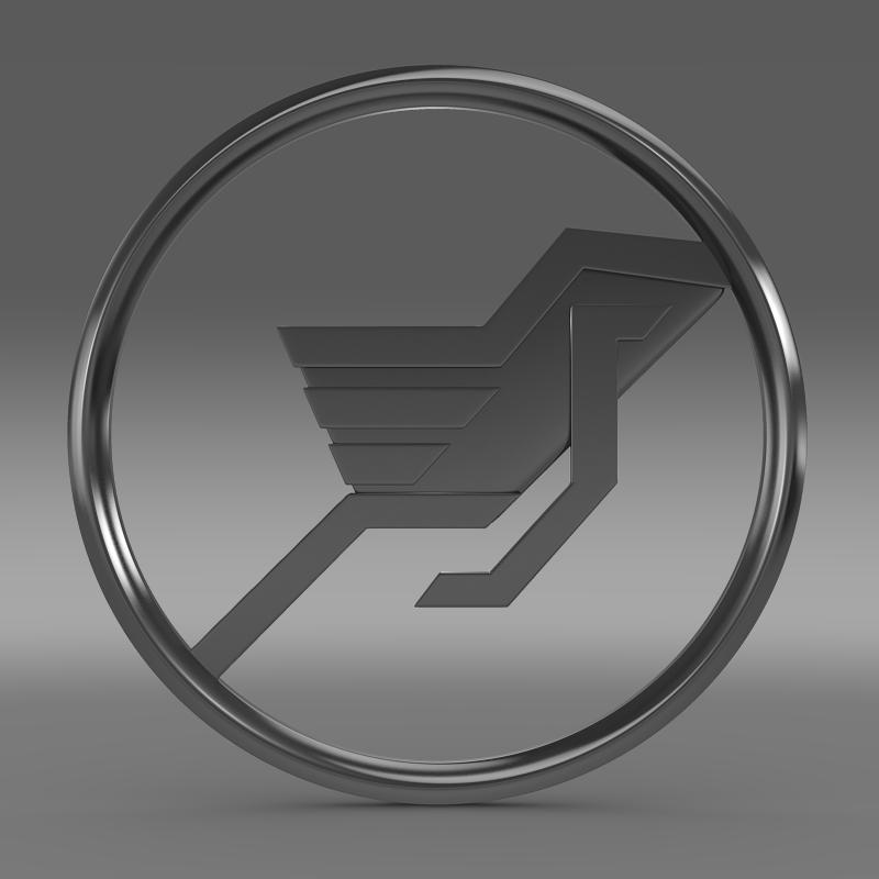 hamman logo 3d líkan 3ds max fbx c4d lwo ma mb hrc xsi obj 132929