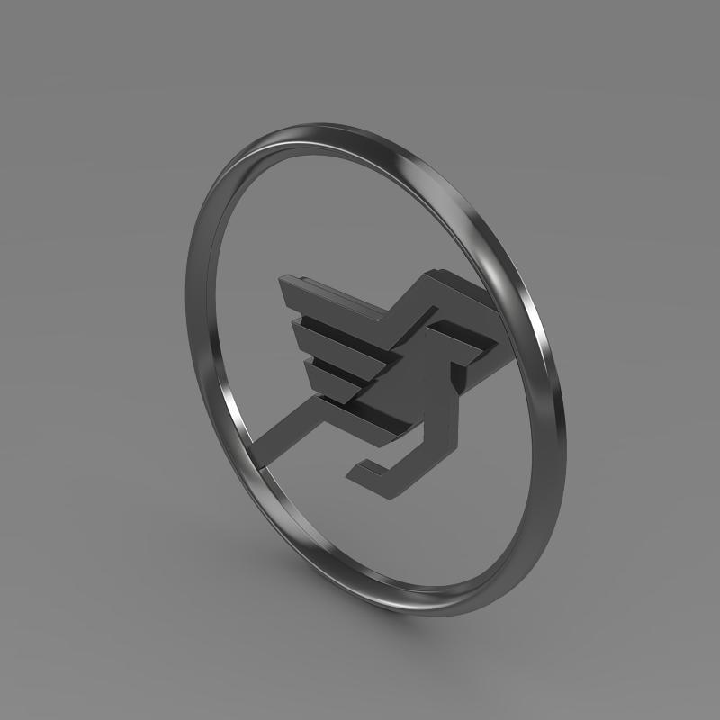 hamman logo 3d líkan 3ds max fbx c4d lwo ma mb hrc xsi obj 132931