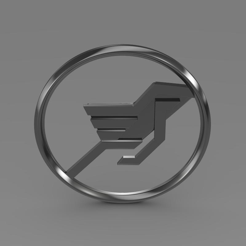 hamman logo 3d líkan 3ds max fbx c4d lwo ma mb hrc xsi obj 132932