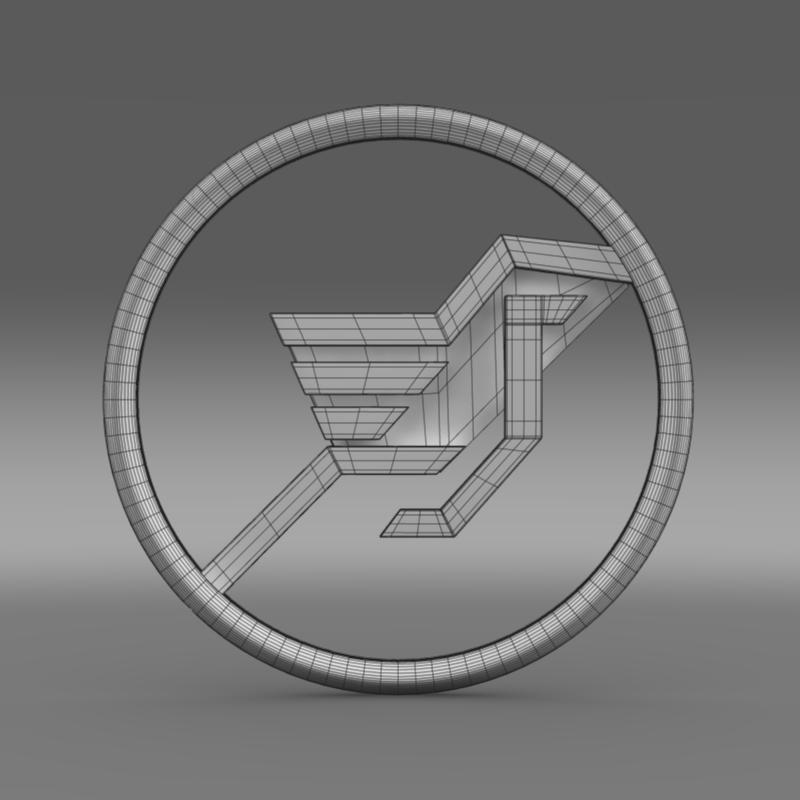 hamman logo 3d líkan 3ds max fbx c4d lwo ma mb hrc xsi obj 132934