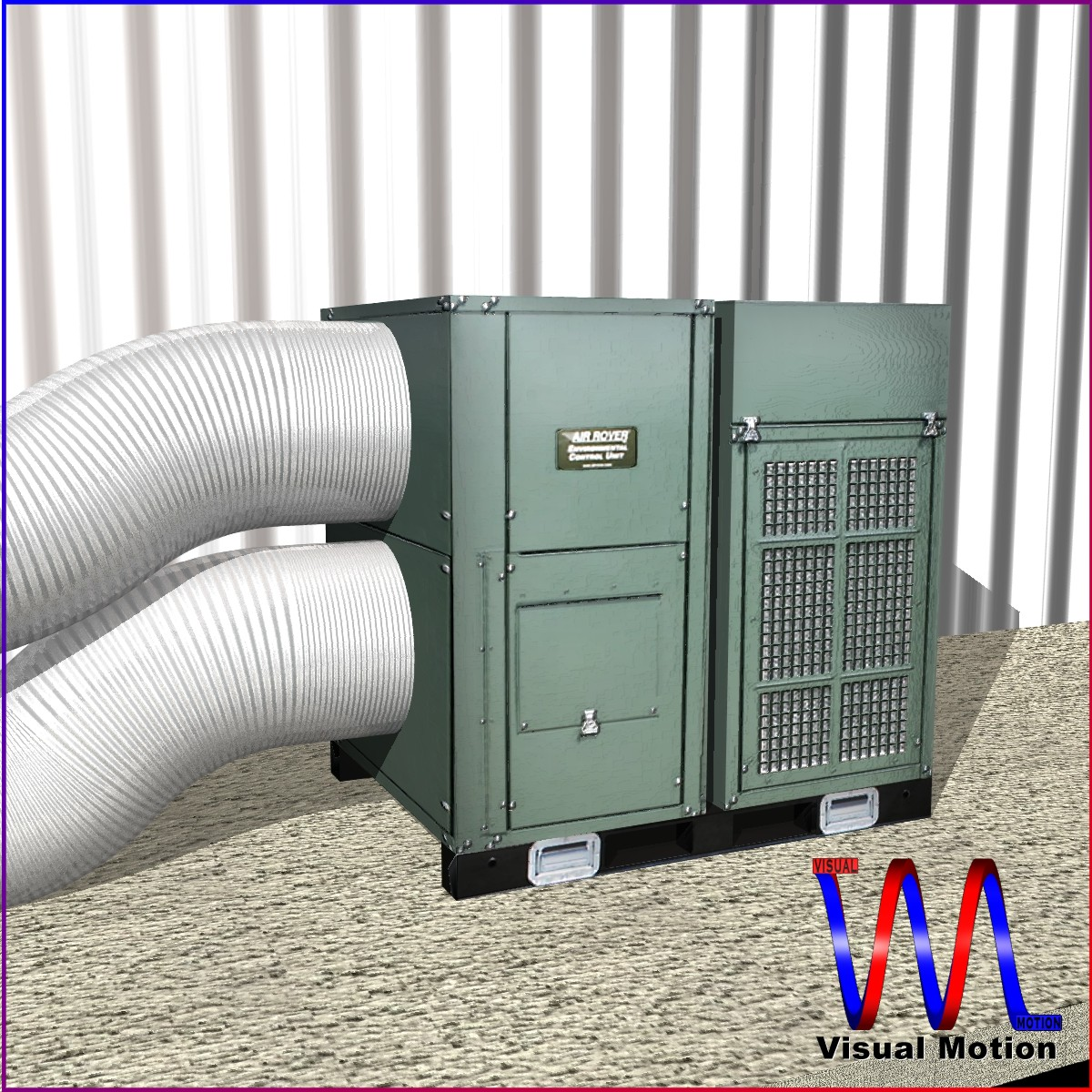 hvac air rover unit 3d model 3ds dxf cob x obj 153091