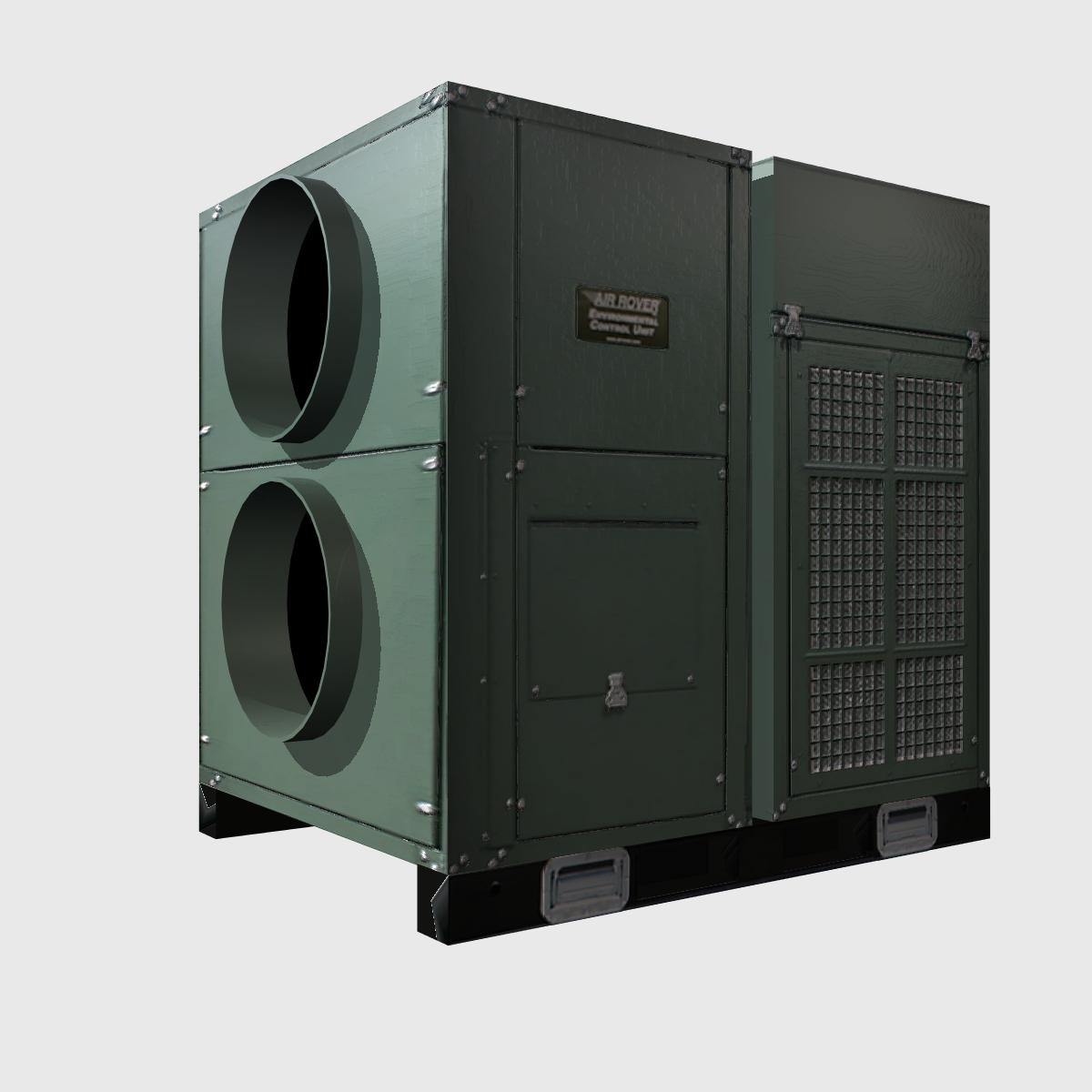 hvac air rover unit 3d model 3ds dxf cob x obj 153093