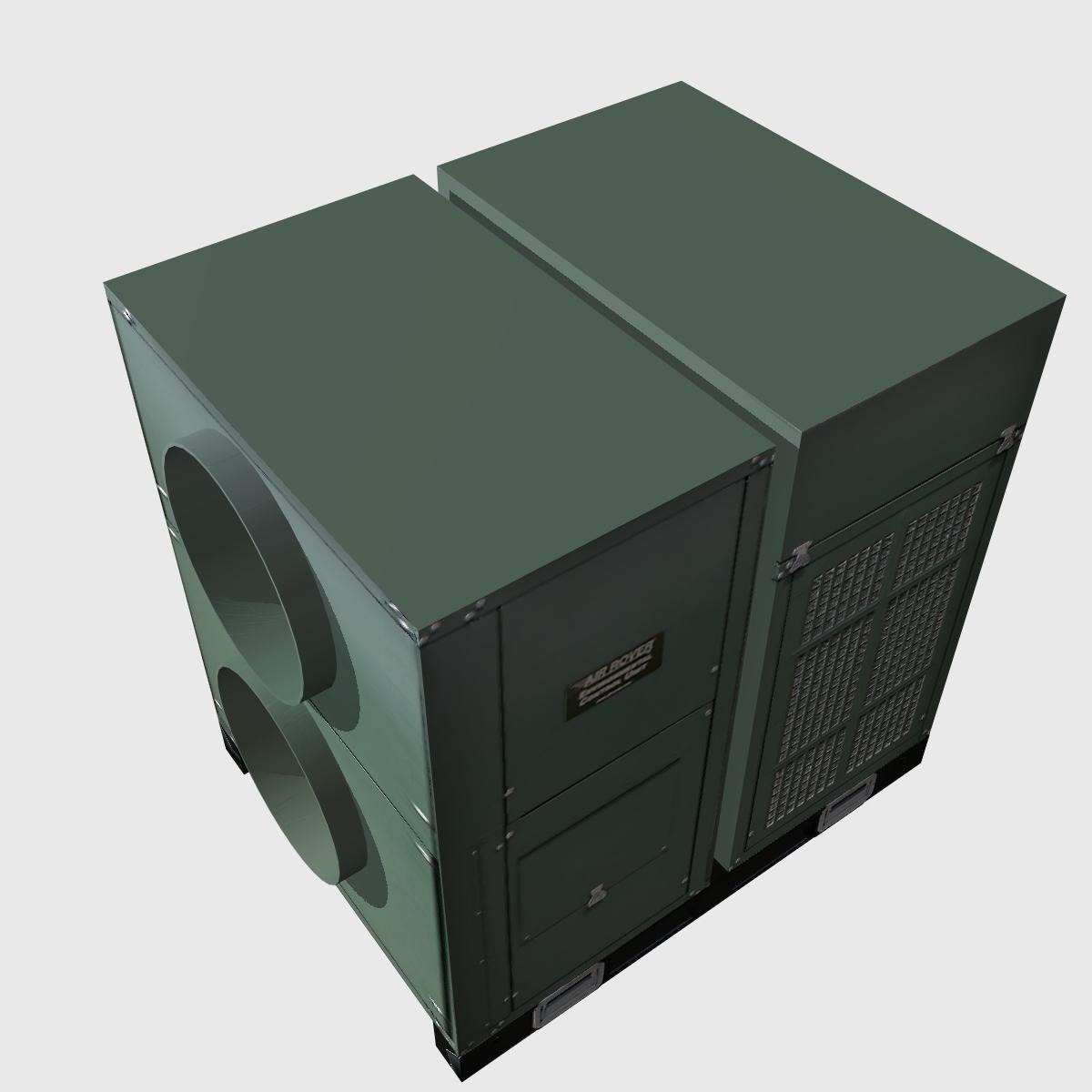 hvac air rover unit 3d model 3ds dxf cob x obj 153094