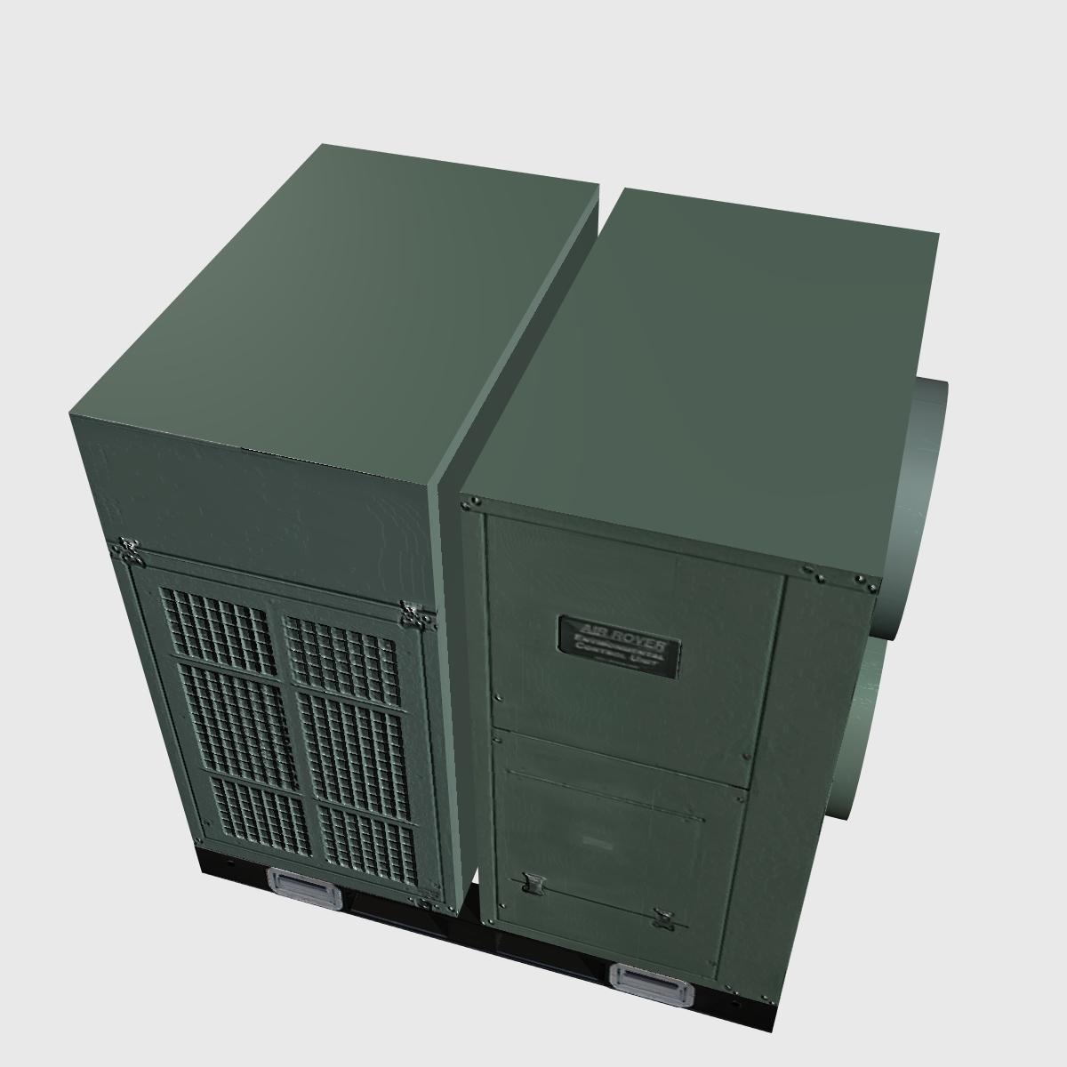 hvac air rover unit 3d model 3ds dxf cob x obj 153095