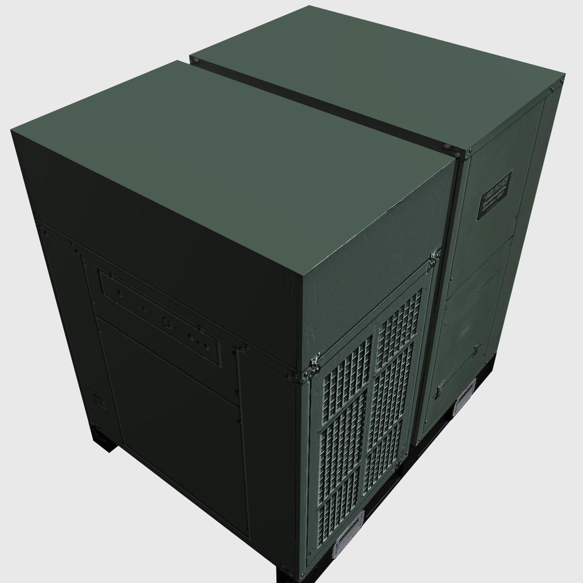 hvac air rover unit 3d model 3ds dxf cob x obj 153096
