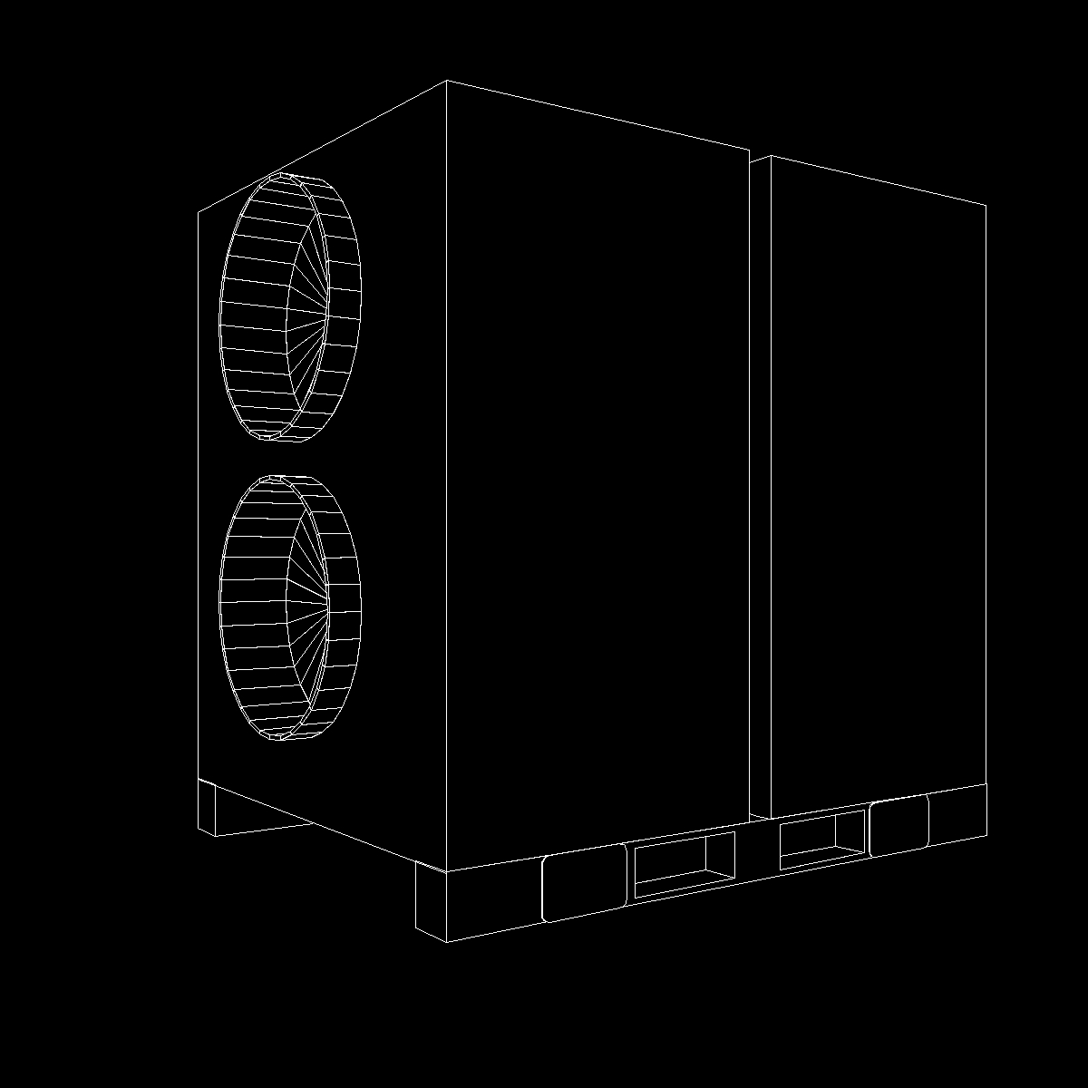 hvac air rover unit 3d model 3ds dxf cob x obj 153098