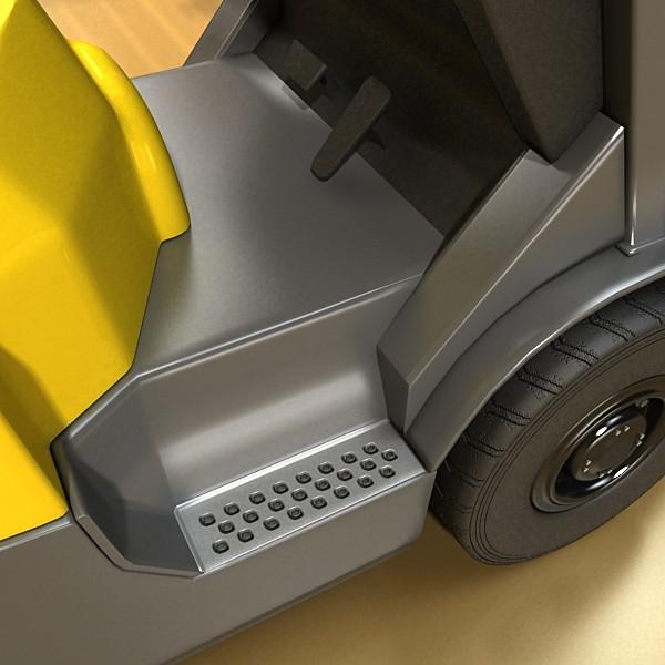 lift truck, pallet, cartons & metal drums 3d model max fbx obj 130630