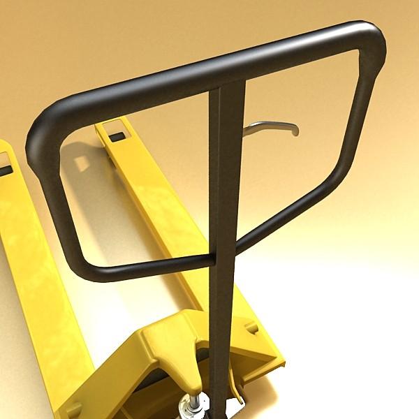 pallet jack high detail 3d model 3ds max obj 130561