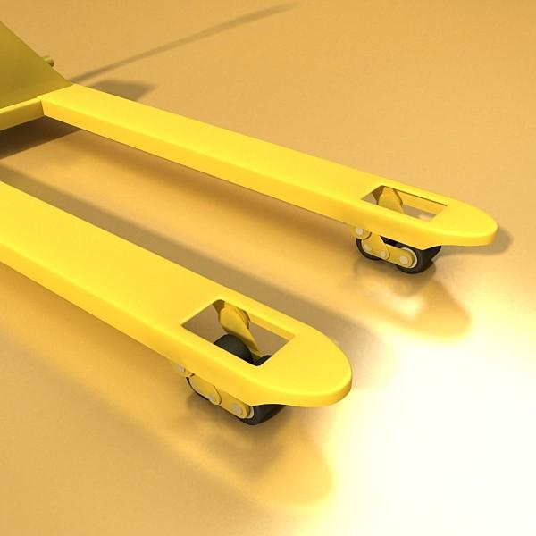 pallet jack high detail 3d model 3ds max obj 130563