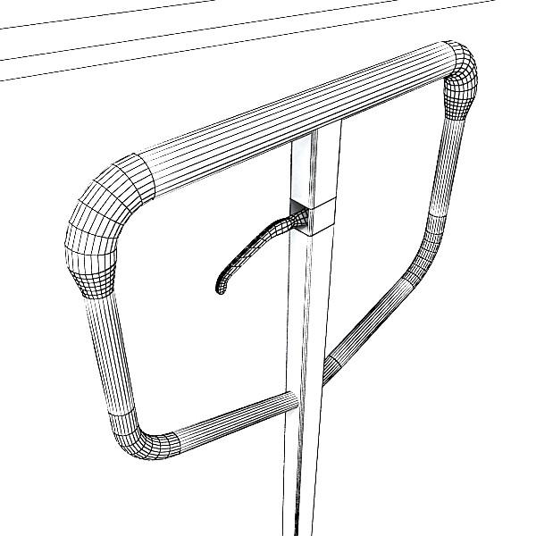 pallet jack high detail 3d model 3ds max obj 130568