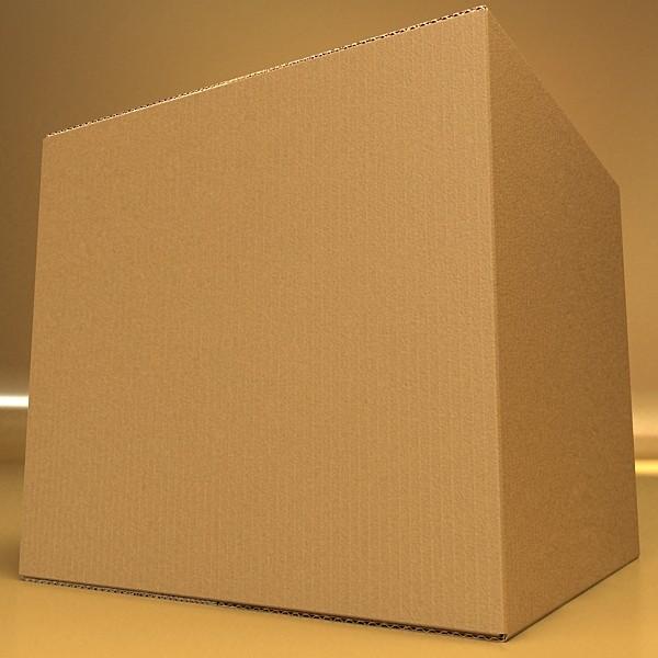photoreal cardboard carton high res 3d model 3ds max fbx psd obj 130159