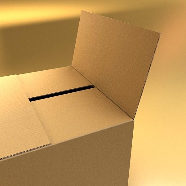 photoreal cardboard carton high res 3d model 3ds max fbx psd obj 130162