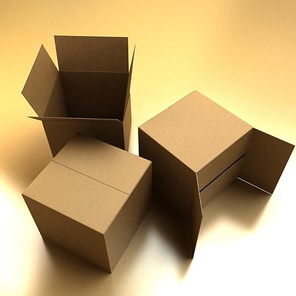 photoreal cardboard carton high res 3d model 3ds max fbx psd obj 130165