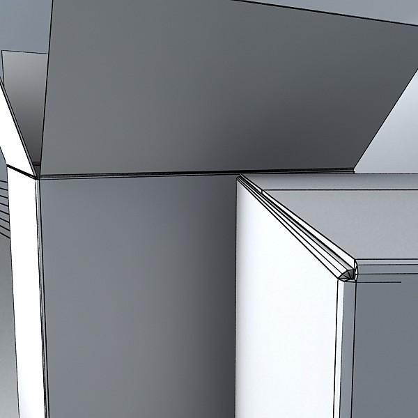 photorealistic cardboard box high res 3d model 3ds max fbx obj 130194