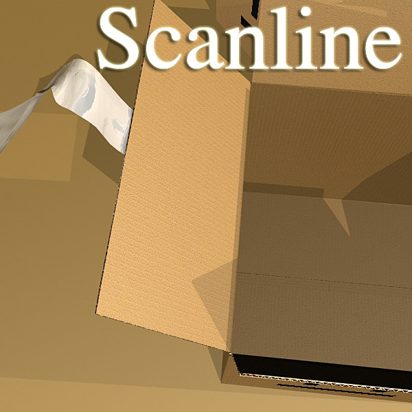 photorealistic cardboard box high res v2 3d model 3ds max fbx psd obj 130280