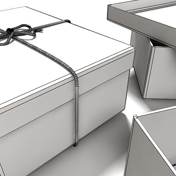 photorealistic cardboard box & rope 3d model 3ds max fbx psd obj 130256