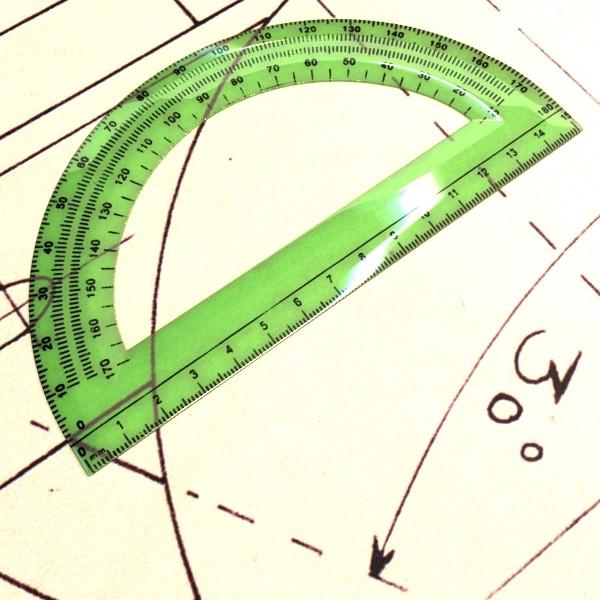 plastic protractor ruler 04 3d model 3ds max fbx obj 132212