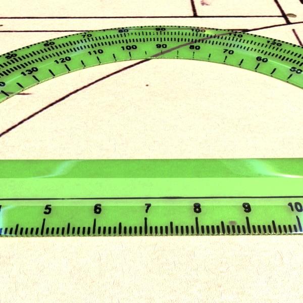 plastic protractor ruler 04 3d model 3ds max fbx obj 132214