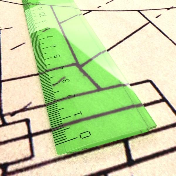 ruler 03 high res 3d model 3ds max fbx obj 132202