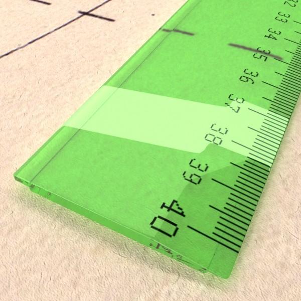 ruler 03 high res 3d model 3ds max fbx obj 132204