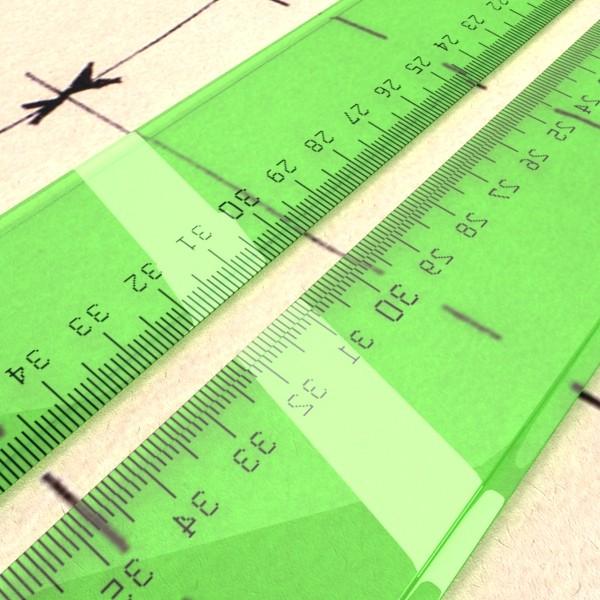 ruler 03 high res 3d model 3ds max fbx obj 132205