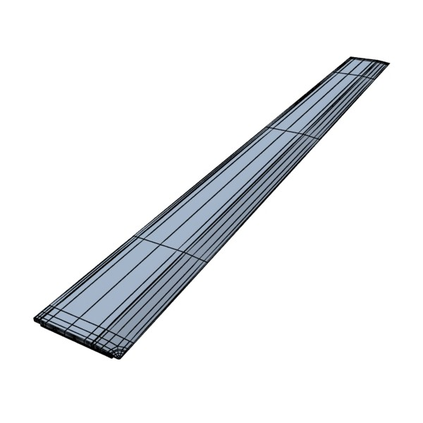 ruler 03 high res 3d model 3ds max fbx obj 132208